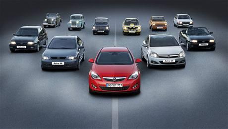 Opel Astra a jeho předchůdci