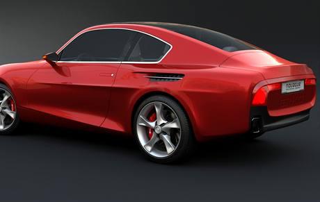 Škoda 110R podle designérů NOVAGUE