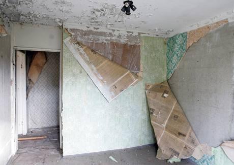 Zdevastované byty