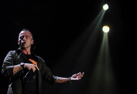 Eros Ramazzotti vystoupil v Praze