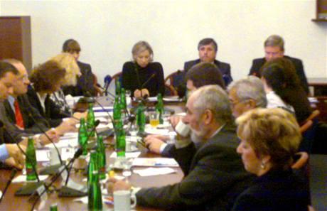 Jednání výboru pro evropské záležitosti. (11. listopadu 2009)