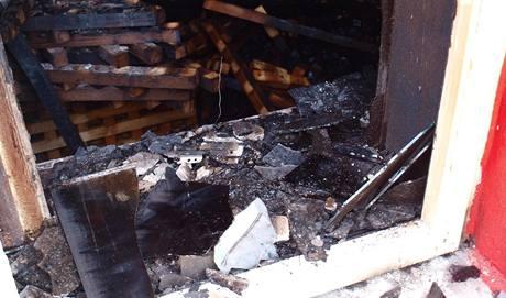 Zkušební požár v Bohumíně