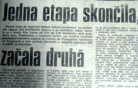 Jedna etapa skončila ..., Mladá fronta 17. listopadu 1989