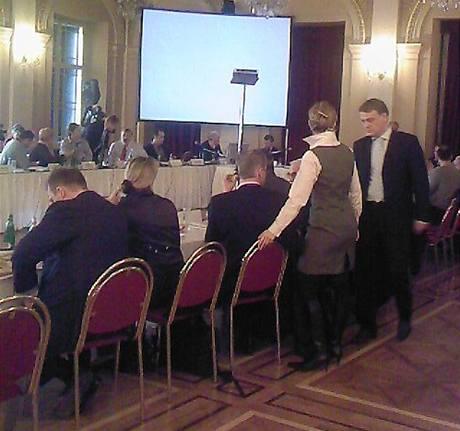 Na zasedání zastupitelstva Prahy 1 přišel o funkci starosta i předseda finančního výboru (19. listopadu 2009)