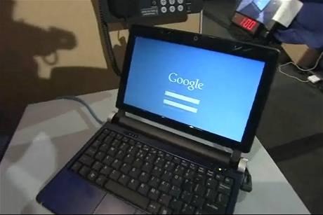 Google Chrome OS - rychlý start a úvodní přihlašovací obrazovka
