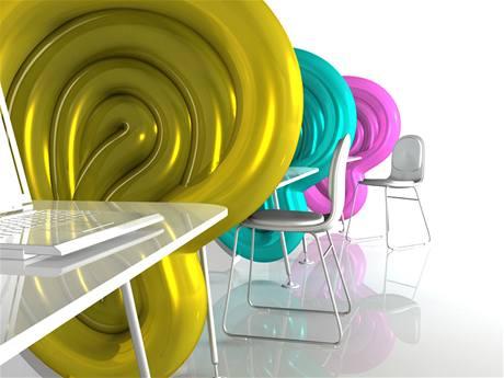 Dobrý studentský design 2009 - Kateřina Kuchařová, nafukovací kancelářská přepážka Close-space