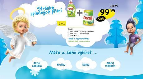 Albert: Vánoční reklama 2009