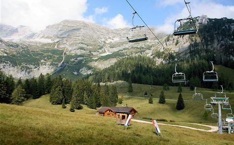 Rakousko, malebný a turisticky zatím neobjevený Wurzeralm