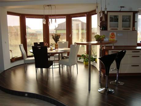 Elegantní a harmonická kuchyně