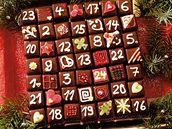 Nugátový adventní kalendář