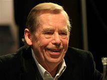 Václav Havel v brněnském Divadle Husa na provázku