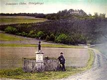 Buková hora - archivní snímek místa z počátku 20 století