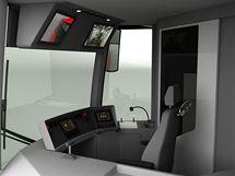Excelentní studentský design 2009 - Vojtěch Linhart, rekonstrukce tramvajového vozu T6 A5