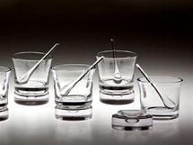 Dobrý studentský design 2009 - Kateřina Šípová, skleněný soubor Tequila set