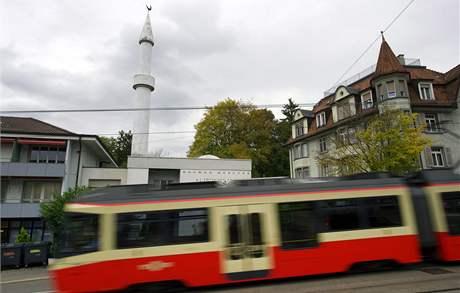 Mešita v Curychu (26. října 2009)
