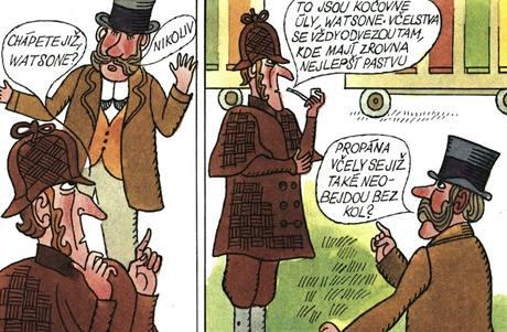 Ukázka Čtyřlístku se Sherlockem Holmesem