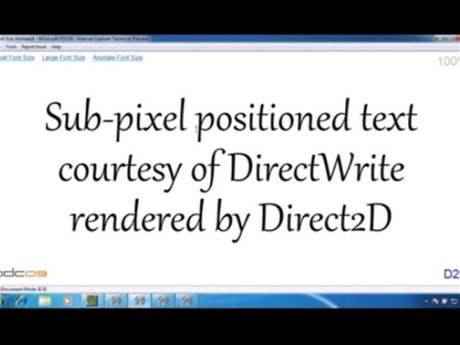 Direct2D v IE9
