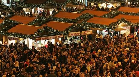 Rozsvěcení vánočního stromu na náměstí Svobody v Brně
