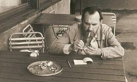 Egon Bondy v Praze roku 1984