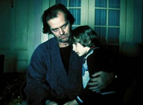 Z filmu Osvícení - Jack a Danny