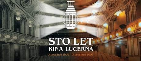 Plakát ke 100. jubileu Kina Lucerna
