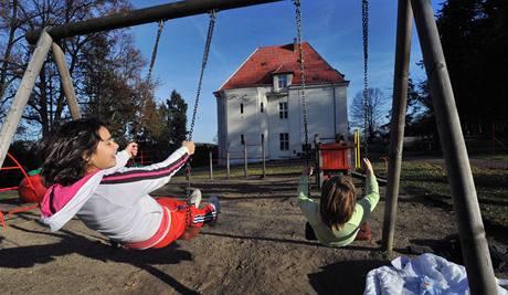 Dětský domov v Pyšelích (na snímku z 19. listopadu 2009)