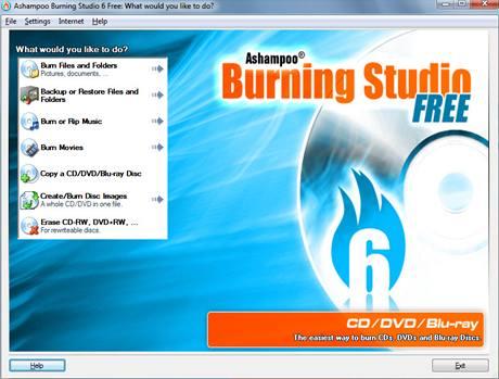 Ashampoo Burning Studio Free
