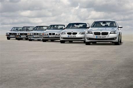 Šest generaci BMW 5