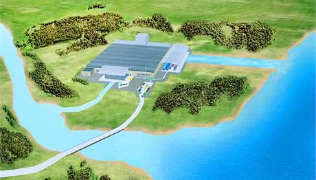 Vhodným místem pro osmotickou elektrárnu je ústí sladkovodní řeky do slaného moře.
