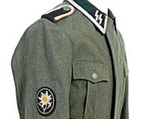 Uniforma jednotky SS Alpská protěž.