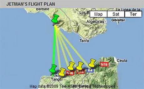 Jetmanův plán překonání Gibraltarského průlivu