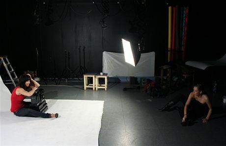 Ze zákulisí - fotografujeme mediaboxy pro vánoční test