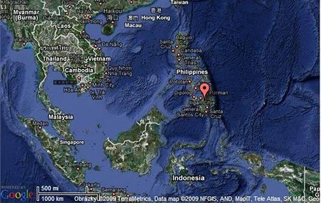 Filipínský ostrov Mindanao