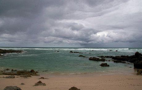 Jihoafrická republika. Pohled z Mysu střelky. Atmosféra na Cape Agulhas nás uchvátila