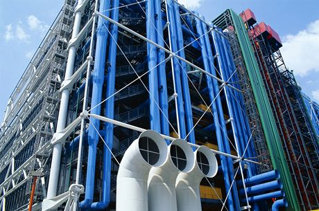 Palác Centre Pompidou v Paříži