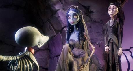 Z filmu Mrtvá nevěsta