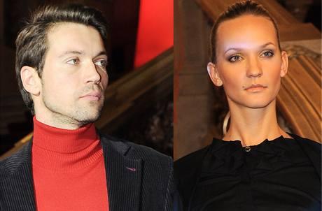 Lukáš Hejlík a jeho nová přítelkyně Veronika Šebková