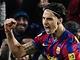 FC Barcelona - Real Madrid: domácí Zlatan Ibrahimovic (vlevo) a Andres Iniesta slaví gól