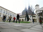 Opravený Biskupský dvůr v Brně
