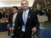 Ivan Langer na kongresu ODS. (21. listopadu 2009)