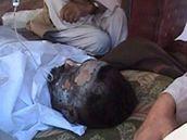Civilní oběti náletu NATO v Afghánistánu