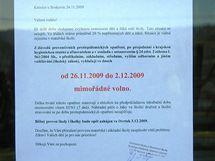 Od čtvrtka 26. listopadu zůstalo doma asi dvě stě žáků základní a mateřské školy v Knínicích u Boskovic