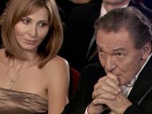 Karel Gott s manželkou Ivanou v upoutávce na letošní udílení cen Český slavík