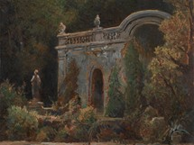 Louisa Piepenhagenová - Vparku (1879)