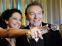 Český slavík 2009 - Lucie Bílá a Karel Gott