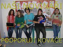 Studenti Gymnázia Matyáše Lercha dál bojují za odvolaného ředitele Petra Kovače.