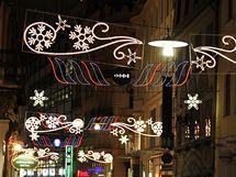 Rozsvěcení vánočního stromu a výzdoby na náměstí Svobody v Brně
