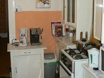 Původní kuchyně v předsíni