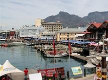 Jihoafrická republika. Centrum Nový Smíchov po africku. Nákupní centrum v Kapském Městě
