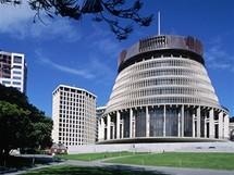 Budova The Beehive, Welligton, Nový Zéland